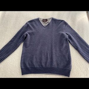Black Brown 1826, 100% Cashmere Men's Sweater